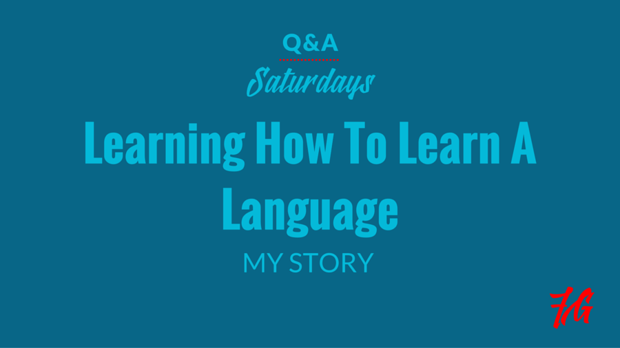 Learning How to Learn English: My Story