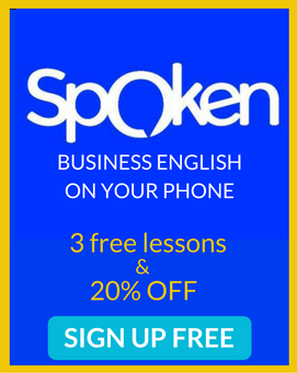 spoken business english