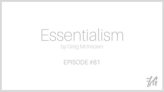 An English Lesson on the book Essentialism